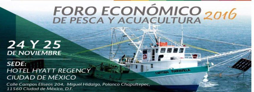 Foro Económico de Pesca y Acuacultura 2016