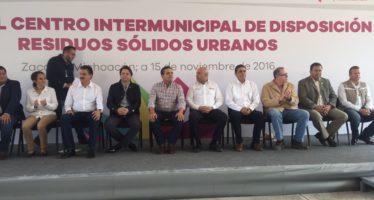 CENTRO INTERMUNICIPAL DE DEPÓSITOS DE RESIDUOS SÓLIDOS URBANOS, ZACAPU-VILLA JIMÉNEZ
