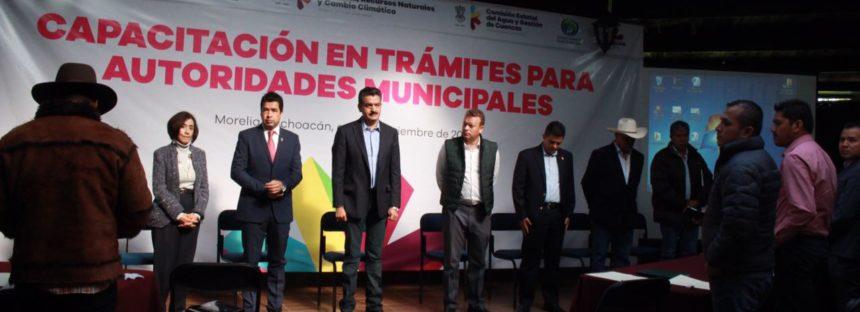 Instituciones del Gobierno del Estado Fortalecen a Municipios en Gestión Ambiental