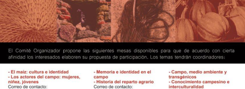 III Coloquio sobre el Campo y las Ruralidades de México