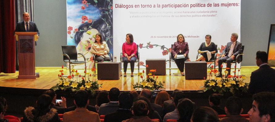 Diálogo en torno a la participación política de las mujeres