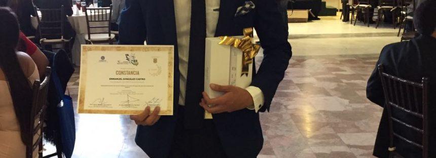 Emmanuel González Castro, de la Facultad de Ingeniería Civil de la UMSNH, logra segundo lugar en Congreso de Jóvenes Investigadores