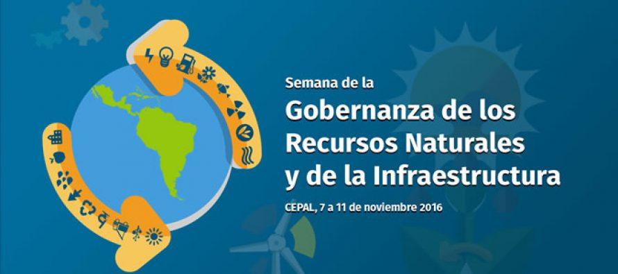 Semana de la Gobernanza de los Recursos Naturales y de la Infraestructura de la CEPAL en Chile