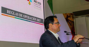 SAGARPA presentó reglas de operación para detonar productividad en México Alimentaría Food Show 2016
