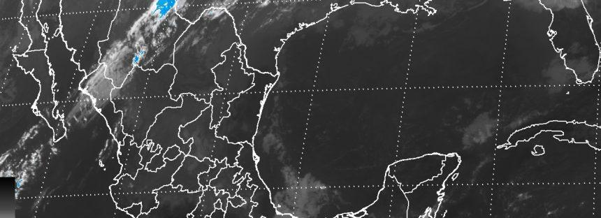 Lluvias con chubascos se pronostican para Chiapas, Chihuahua, Sonora, Veracruz y Tabasco