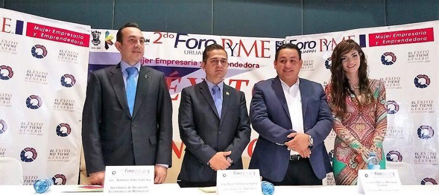 Darán financiamientos a empresas michoacanas, anuncia Sedeco