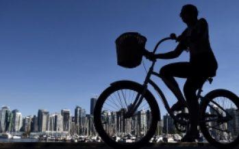 Los automóviles ya no son parte de la vida en Vancouver