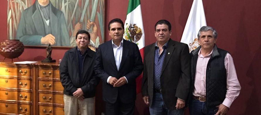Productores nacionales se reúnen con el gobernador de Michoacán para dialogar sobre desarrollo económico