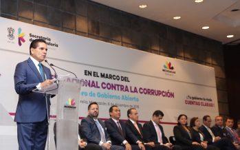 La lucha contra la corrupción como prioridad por parte del Gobierno en Michoacán