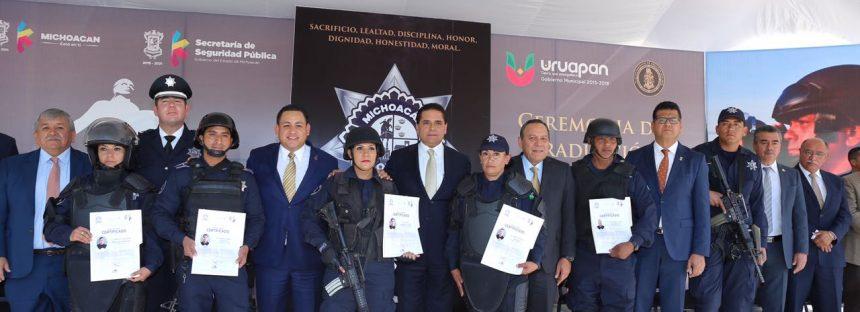 Impulsan formación de la policía en el estado de Michoacán