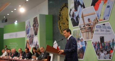 Enrique Peña Nieto entregó el noveno Premio Nacional de Acción Voluntaria y Solidaria 2016