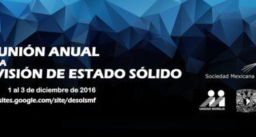 Reunión Anual de la División de Estado Sólido de la Sociedad Mexicana de Física