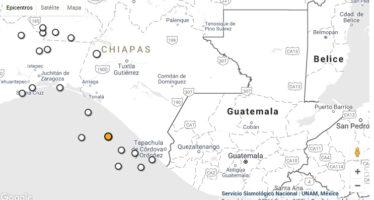 Terremoto de mediana magnitud sacude a Chiapas esta mañana