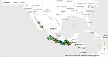 Siete sismos de magnitud media sacuden a México en menos de 24 horas