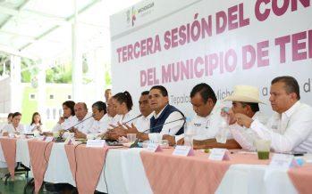 Para lograr transformación de Tepalcatepec se realizarán acciones articuladas