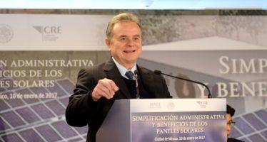 El uso de la energía solar para pequeños generadores se ha facilitado gracias a la Reforma Energética, declara la Secretaría de Energía