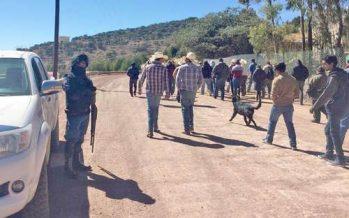 Minera canadiense desaloja con armas a vecinos de Chalchihuites