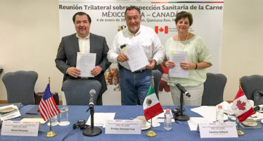 México, Estados Unidos y Canadá firman acuerdo sobre comercio justo y transparente de cárnicos