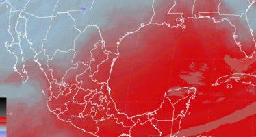 Vientos mayores a 80 km/h y nevadas en el noroeste de México se esperan por el frente frío (VÍDEO)
