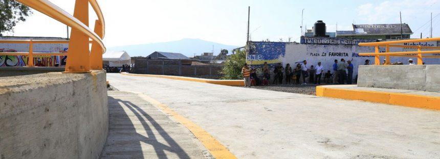 Inauguran obras públicas de más de 5 mdp en Huandacareo, Michoacán
