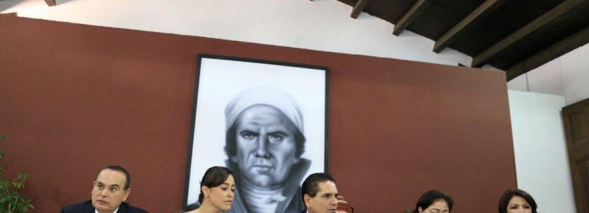 Desarrollo de infraestructura y económico, así como inversión en producción y seguridad serán reforzadas en Michoacán