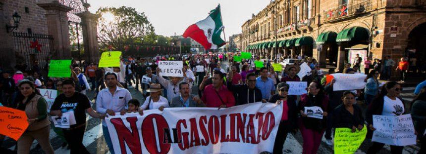 Gobierno de Michoacán propone apoyar las empresas de la región para generar empleo y hacer frente a alza de combustibles