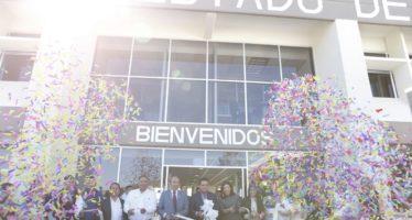 Inauguran instalaciones de  la Universidad Virtual de Michoacán, inversión mayor de 21 mdp
