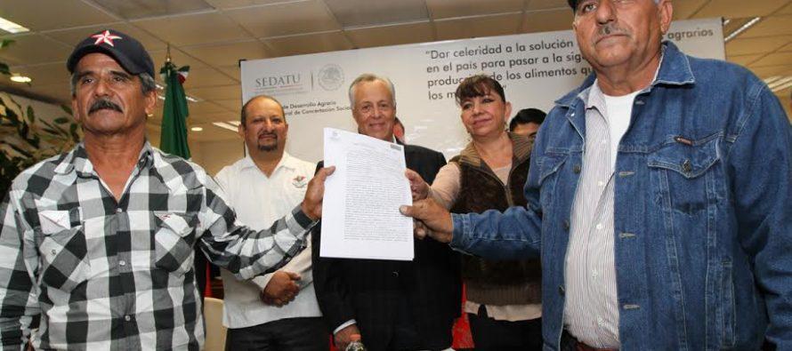 190 conflictos agrarios fueron resueltos a favor de las familias campesinas mexicanas