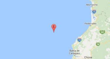 Sismo de 5 grados sobre la escala de Richter sacudió esta mañana la costa ecuatoriana