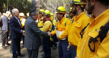 Misión humanitaria de México brinda apoyo a Chile por incendios forestales