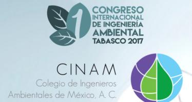 Congreso Internacional de Ingeniera Ambiental Tabasco 2017