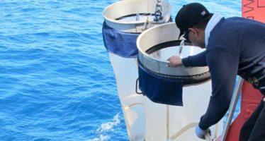 Concluyó el BIPO,  tres meses de investigación de litorales de la península de Baja California