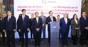 Presentan serie de medidas para apoyar y reducir los gastos de familias michoacanas