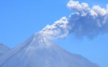Volcán de Fuego de Colima es estudiado por investigadores de la UNAM