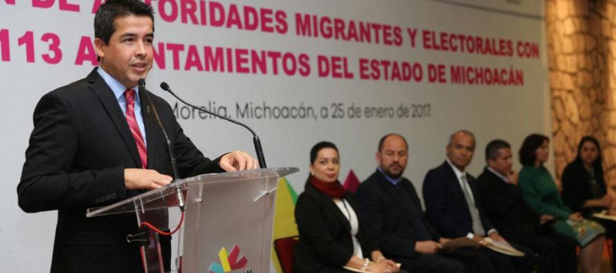 Los 113 municipios de Michoacán realizan acciones en favor a los migrantes