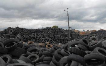 En Guanajuato, campaña estatal de acopio de neumáticos fuera de uso, del 14 al 17 de febrero de 2017