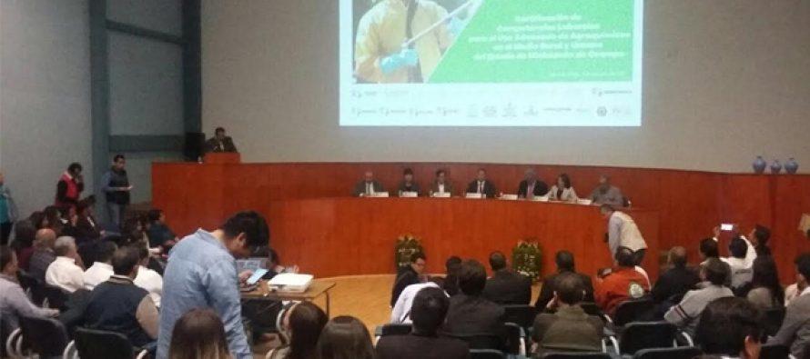 Para garantizar salud de consumidores, promueven uso regulado de agroquímicos