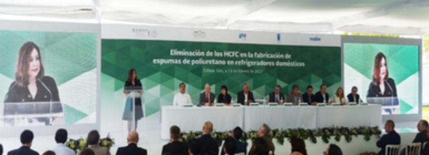 Avanzan México en la protección de la capa de ozono y la mitigación del cambio climático