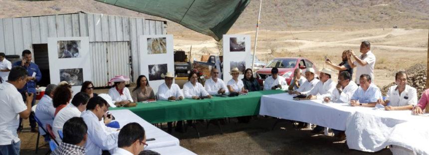 Desplazados por construcción de presa El Chihuero en Huetamo serán reubicados en nuevo centro de población