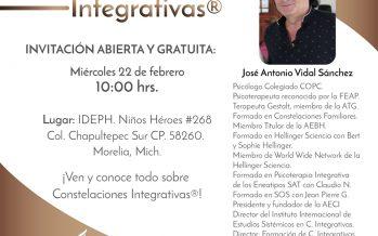 Investigadores y terapeutas catalanes inician en Morelia un taller de Formación en Constelaciones Integrativas