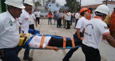 Realizarán simulacro de sismo en Chiapas el próximo 17 de Marzo para fomentar la prevención