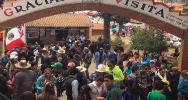 Se registra histórica afluencia turística en el País de la Monarca