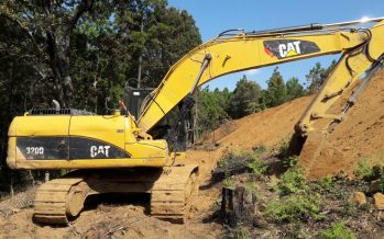 En predios de Villa Madero se incauta maquinaria pesada con la que destruyen los bosques