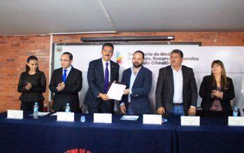 La SEMARNACC y el Instituto Latino de Morelia signan convenio de colaboración