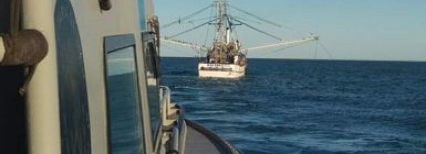 Aseguran tres embarcaciones mayores de pesca ilegal en Alto Golfo de California y delta del Río Colorado