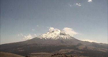 El Semáforo de Alerta Volcánica del Popocatépetl se encuentra en Amarillo Fase 2