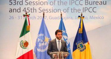 Comienza en México reunión de expertos en cambio climático