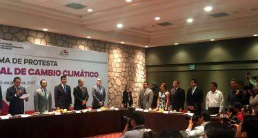 INSTALAN LA COMISIÓN INTERSECRETARIAL DE CAMBIO CLIMÁTICO