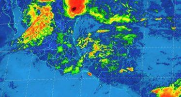 Viento y tornados en el norte de Tamaulipas. Tormentas en Coahuila y Puebla