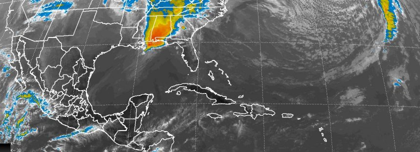 Vientos superiores a 50 km/h en el noroeste, el norte, el centro y el oriente de México